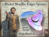 Triple-Bladed Metallic Fidget Spinner - Animated - Full-Perm Script