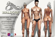 Waldorf Design. Samoan Tattoo