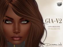 "DREAM INK ""Catwa Mesh Head Appliers GIA_V2"" CH-Chocolate (NS)"