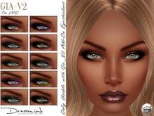 "DREAM INK ""Catwa GIA_V2 Add-On Eyeshadow Appliers"" T-Tan (NS)"