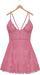 Blueberry - Ime Lace Dress - Maitreya Lara, Belleza Freya Isis Venus, Slink Physique Hourglass - Pink