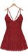 Blueberry - Ime - Lace Dress - Red