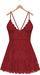 Blueberry - Ime Lace Dress - Maitreya Lara, Belleza Freya Isis Venus, Slink Physique Hourglass - Red