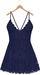 Blueberry - Ime - Lace Dress - Sky