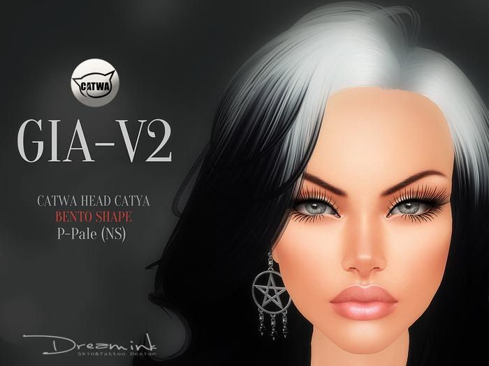 "DREAM INK ""Catwa-Catya Bento Head GIA_V2 Shape"""