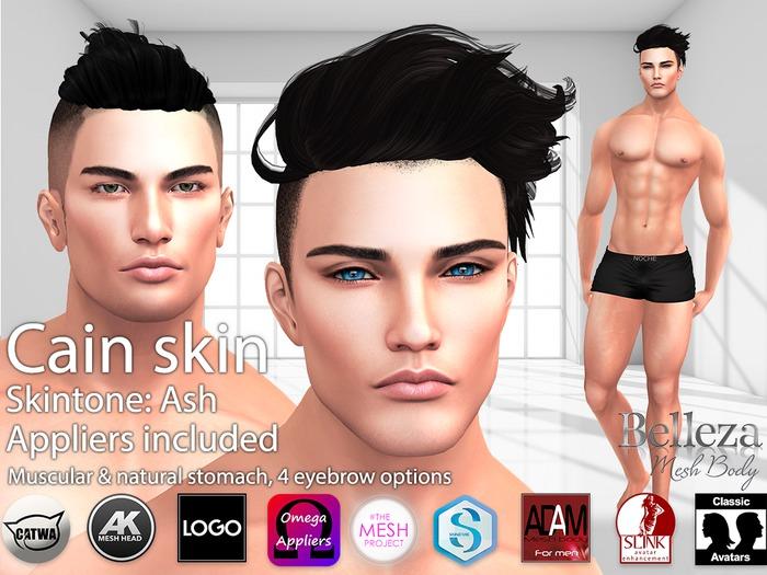 LURE: Cain skin - Ash (BoM ready)