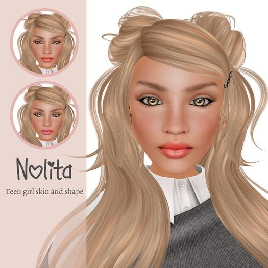 Deluxe Body Factory skins, Nolita teen girl skin and shape