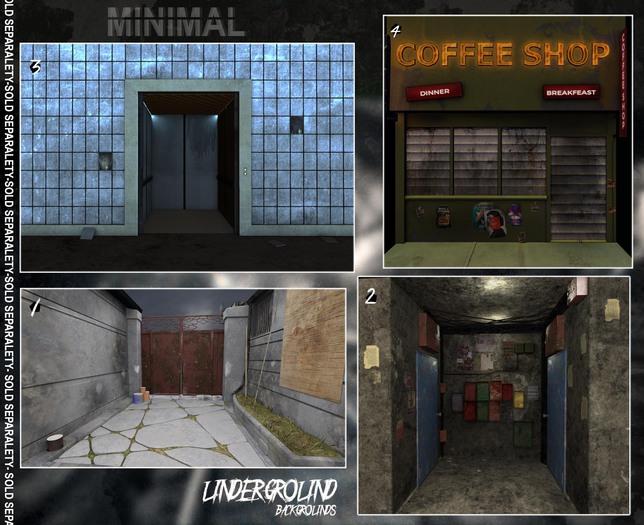 MINIMAL - Underground Background *1*