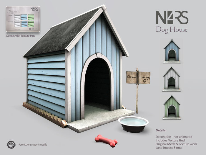 N4RS Dog House - boxed