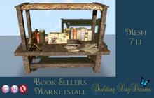 BOOK SELLERS MARKETSTALL ( wear to unpack)