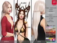 -FABIA- Mesh Hair   <Aysi> Red set 5
