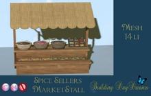 Spice Seller Marketstall ( wear to unpack)