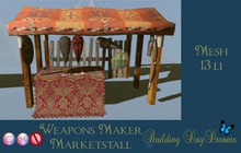 Weapons Maker Marketstall ( wear to unpack)
