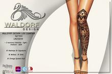 Waldorf Design. Samoan Leg Tattoo
