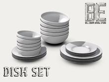 {BE} Dish Set