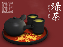 {BE} Green tea set