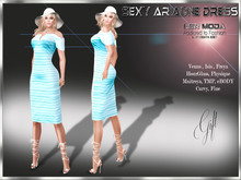 [ LsR ] - Sexy Ariadne Dress Aqua Dollarbie