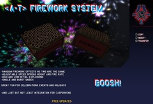 <A-T> Firework System *Boxed*