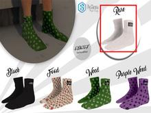 ExalteD - Socks {Belleza & Signature} White *RARE*