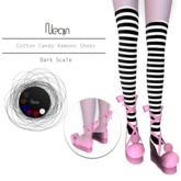 ^.Nean.^ Kamelot Cotton candy Shoes / Dark Scale