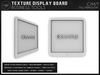 Texture display board mp1