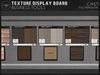 Texture display board mp3
