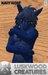Luskwood Navy Wolf Furry Avatar - Male