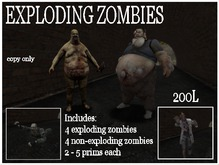 Exploding zombies