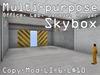 Multi-Purpose Skybox - Laboratory / Office + Garage / Factory / Hangar