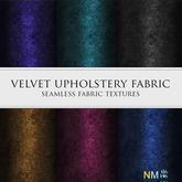 Velvet Upholstery Fabric Textures Dark NM Seamless