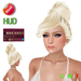 "eDeLsToRe women mesh hair "" Darla "" incl 24 color HUD updo"