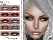 "DREAM INK ""Catwa GIA_V2 Add-On Lipstick Appliers"" V-Vampire"