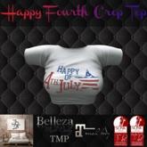 TSL - Happy 4th Crop Top