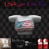TSL - USA Love Crop Top