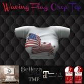 TSL - Waving Flag Crop Top