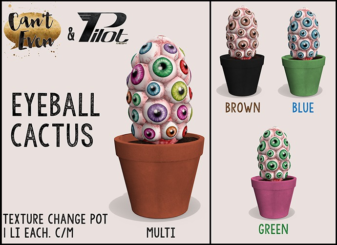 PILOT & Can't Even - Eyeball Cactus: Multi