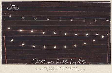 {vespertine}- outdoor bulb lights pack.