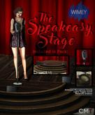 Wimey: Speakeasy Stage Set