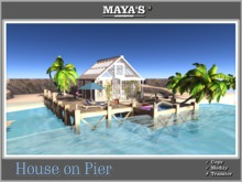 Maya's - House on Pier - Fully Decorations