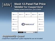 [MW] Mesh 12-Panel Price Vendor v2.12 for CasperVend (boxed)