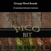 Grungy Wood Boards Textures