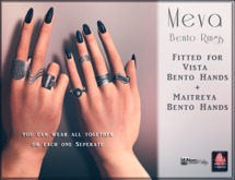 Meva Bento Rings Silver Box [Wear Me]