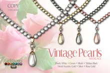 EarthStones Vintage Pearls - Necklace Fatpack