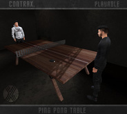 Contrax. - Ping Pong Table