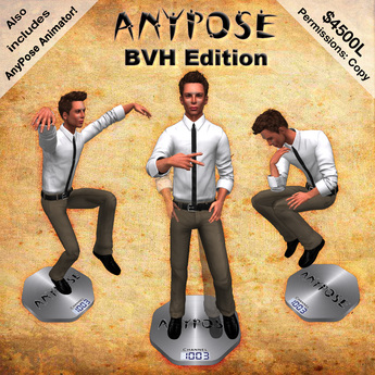 AnyPose BVH Pose Stand (Includes AnyPose Animator!)