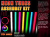 Neon tubes assembly kit