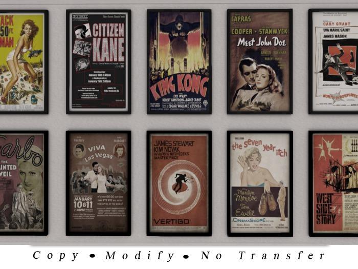 .::De'Mon::. Classic Movie Posters 1 **GIFT**