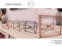 .Birch Cubic Candles