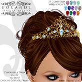 Eolande's Cinderella Tiara - gold
