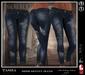 [NOHO] Tasha Skinny Jeans [fitmesh box] blue ripped